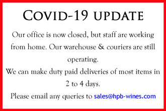 Covid-19 Update regarding deliveries from Hand Picked Burgundy