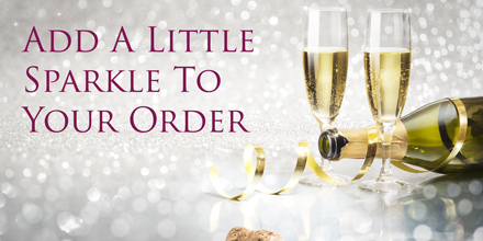 Add a little sparkle to your order with a bottle or two from the Hand Picked Burgundy range of Champagne.