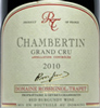 2010 - Rossignol-Trapet - Chambertin Grand Cru  - case (6x75cl) [in bond]