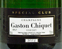 2004 - Gaston Chiquet - Champagne  Special Club Brut - case (6x75cl) [in bond]