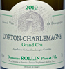 2010 - Rollin - Corton-Charlemagne Grand Cru  - case (6x75cl) [in bond]