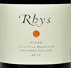 2010 Rhys Santa Cruz Mountains Syrah  Horseshoe Vineyard