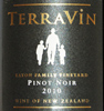 2010 TerraVin Omaka Valley, Marlborough Pinot Noir  Eaton Family Vineyard