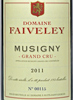 2011 - Faiveley - Musigny Grand Cru