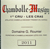 2011 - Roumier, Georges - Chambolle-Musigny 1er Cru  Les Cras - 75cl [in bond]