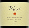 2011 - Rhys - Santa Cruz Mountains Syrah Horseshoe Vineyard