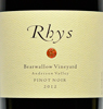 2012 - Rhys - Anderson Valley Pinot Noir Bearwallow Vineyard