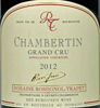 2012 - Rossignol-Trapet - Chambertin Grand Cru  - case (6x75cl) [in bond]