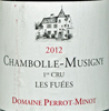 2012 - Perrot-Minot - Chambolle-Musigny 1er Cru  Les Fuees Vielles Vignes