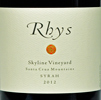 2012 Rhys Santa Cruz Mountains Syrah  Skyline Vineyard