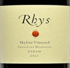 2011 - Rhys - Santa Cruz Mountains Syrah Skyline Vineyard