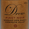 2012 - Drew Family Cellars - Anderson Valley Pinot Noir  Morning Dew Ranch Vineyard