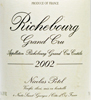 2002 - Potel, Nicolas - Richebourg Grand Cru