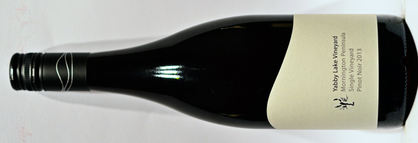 2013 - Yabby Lake - Mornington Peninsula Pinot Noir  Single Vineyard