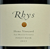 2013 Rhys San Mateo County Pinot Noir  Home Vineyard