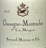 2013 - Moreau, Bernard - Chassagne-Montrachet 1er Cru  Morgeot - case (6x75cl) [in bond]