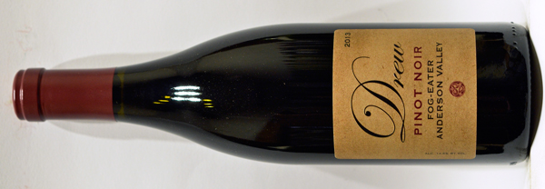 2013 - Drew Family Cellars - Anderson Valley Pinot Noir  Fog Eater