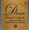 2013 Drew Family Cellars Anderson Valley Pinot Noir  Fog Eater