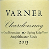 2013 Varner Santa Cruz Mountains Chardonnay  Spring Ridge Vineyard Amphitheater Block