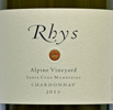 2013 Rhys Santa Cruz Mountains Chardonnay  Alpine Vineyard