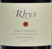 2014 Rhys Santa Cruz Mountains Pinot Noir  Alpine Vineyard