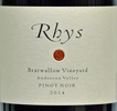 2014 Rhys Anderson Valley Pinot Noir  Bearwallow Vineyard