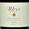 2013 Rhys Santa Cruz Mountains Syrah  Skyline Vineyard