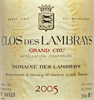 2005 - Lambrays, Dom.des - Clos des Lambrays Grand Cru  - case (12x75cl) [in bond]
