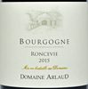 2015 Arlaud Bourgogne Rouge  Roncevie - case (12x75cl) [in bond]