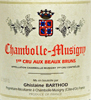 2005 - Barthod - Chambolle-Musigny 1er Cru  Beaux Bruns