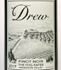 2017 Drew Family Cellars Anderson Valley Pinot Noir  Fog Eater