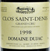 1998 - Dujac - Clos St Denis Grand Cru