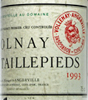1993 - Marquis d'Angerville - Volnay 1er Cru  Taillepieds