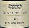 1983 - Dujac - Clos St Denis Grand Cru