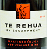 2008 - Escarpment - Martinborough Pinot Noir  Te Rehua