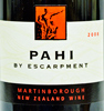 2008 - Escarpment - Martinborough Pinot Noir  Pahi