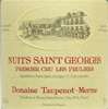 2007 - Taupenot-Merme - Nuits St Georges 1er Cru  Les Pruliers