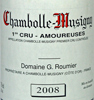 2008 - Roumier, Georges - Chambolle-Musigny 1er Cru  Les Amoureuses