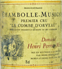 1990 Perrot-Minot Chambolle-Musigny 1er Cru  La Combe d' Orveau Vielles Vignes